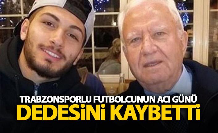 Trabzonsporlu futbolcunun acı günü!