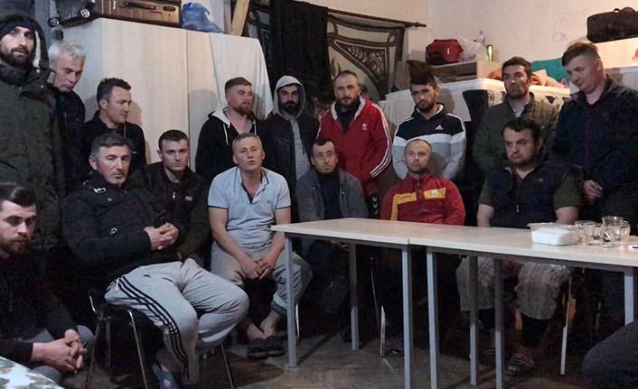 26 Türk işçi Makedonya'da mahsur kaldı
