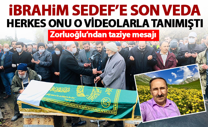 Büyükşehir meclis üyesi İbrahim Sedef son yolculuğuna uğurlandı