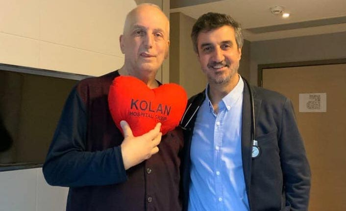 Trabzonspor eski yöneticisi Yener, ameliyat oldu