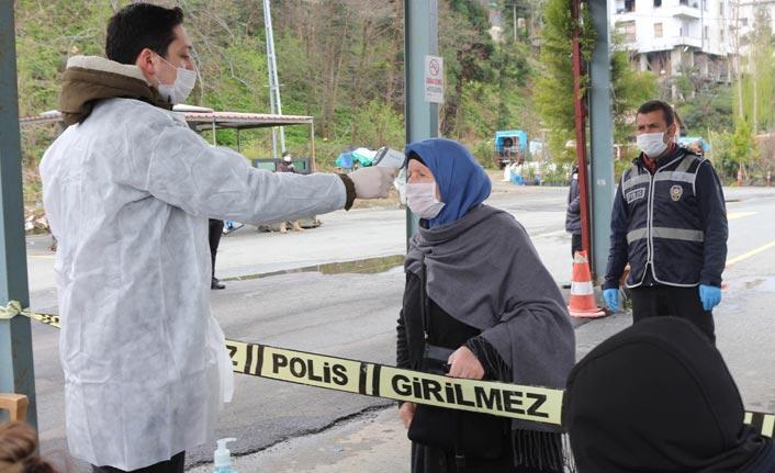 Rize'ye gelenlere 14 gün karantina zorunluluğu