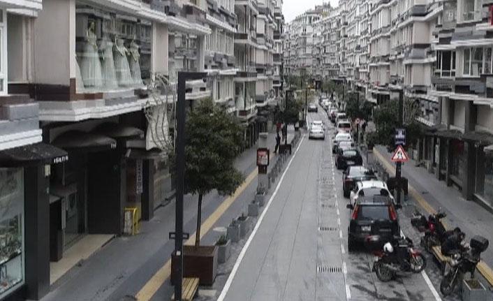Samsun'da da sokaklar boş kaldı