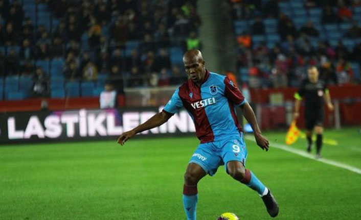 Trabzonspor'un çilingiri Nwakaeme