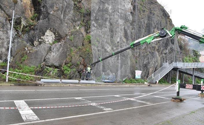 Kayalık bölge için ağ koruması
