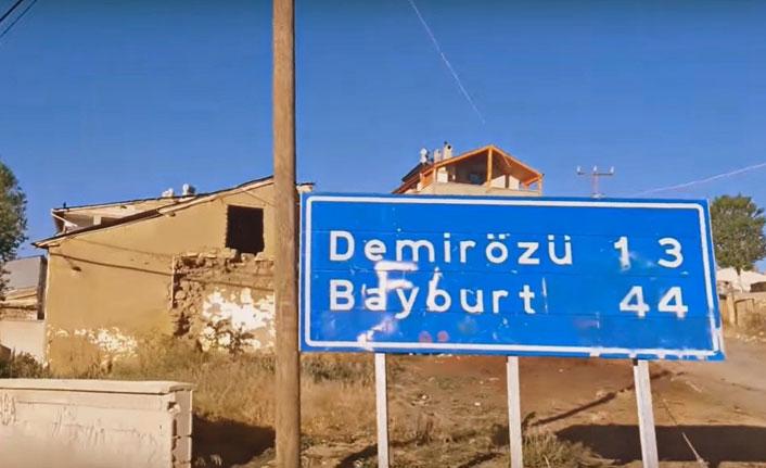 Gökçedere-Köse kara yolu ulaşıma kapatıldı