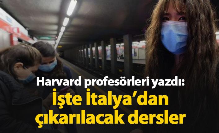 Koronavirüste İtalya'dan çıkarılacak dersler