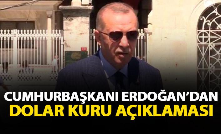 Cumhurbaşkanı Erdoğan'dan dolardaki aşırı artışa yorum: Dışarıdaki düşmanlar yetiyor, içeride destekleyenler var