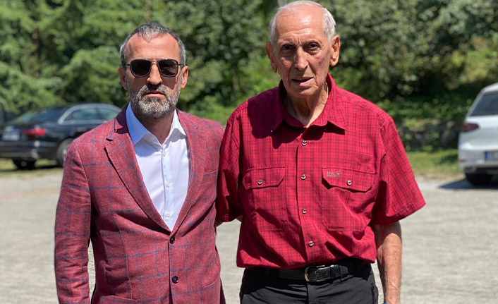 Hacıkerimoğlu'ndan Özkan Sümer'e ziyaret: Görüşleri bizim için değerli
