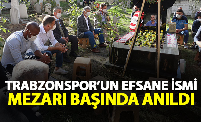 Trabzonspor efsanesi mezarı başında anıldı