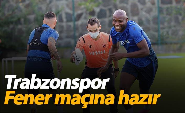 Trabzonspor Fenerbahçe hazırlıklarını tamamladı