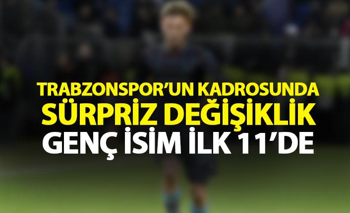 Trabzonspor'da tecrübeli isim kesik yedi!