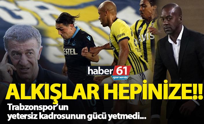 Trabzonspor'un gücü yetmedi!