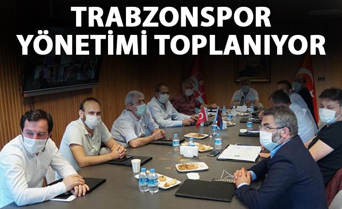Trabzonspor yönetimi toplanıyor!