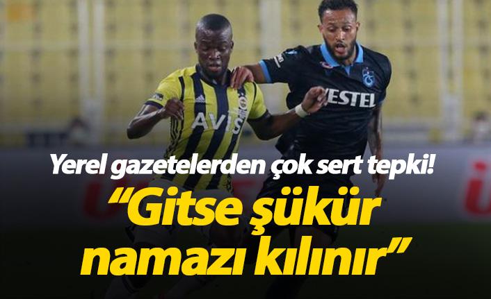 Yerel gazetelerden Trabzonspor'a sert tepki