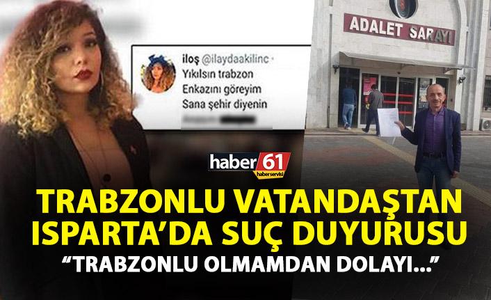 Trabzonspor taraftarından İlayda Kılınç'a suç duyurusu