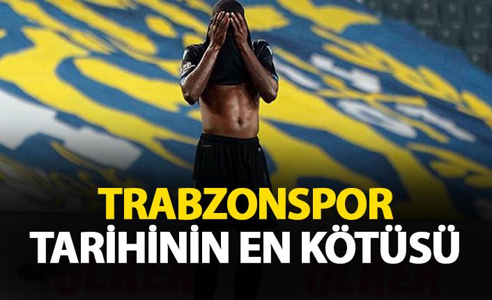 Trabzonspor tarihinin en kötü başlangıcı
