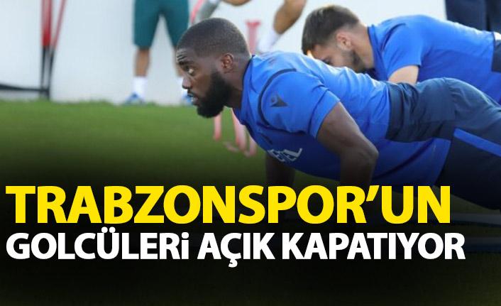 Trabzonspor'un hücumcuları açık kapatıyor!