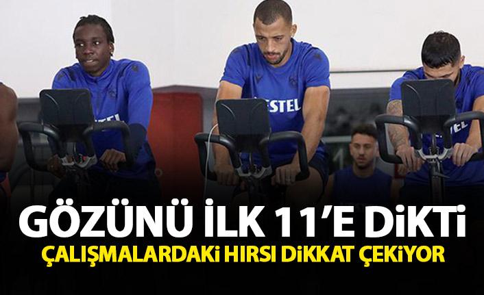 Trabzonspor'da Diabate gözünü ilk 11'e dikti