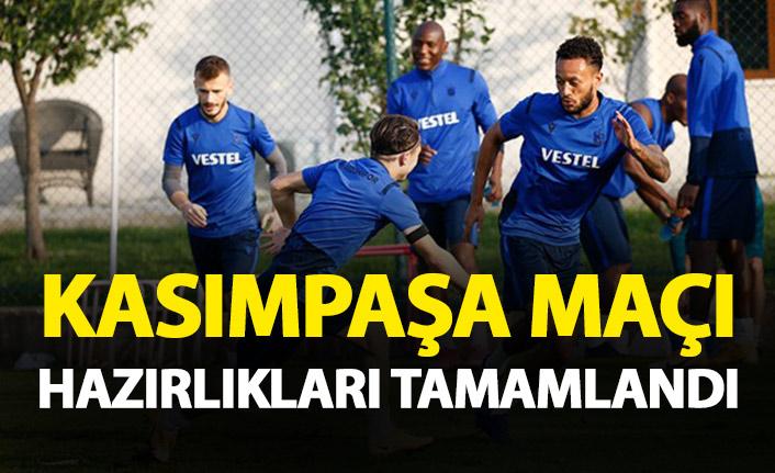 Trabzonspor'da Kasımpaşa maçı hazırlıkları tamamlandı