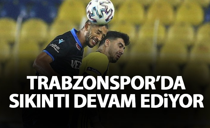 Trabzonspor'da savunma sıkıntısı devam ediyor