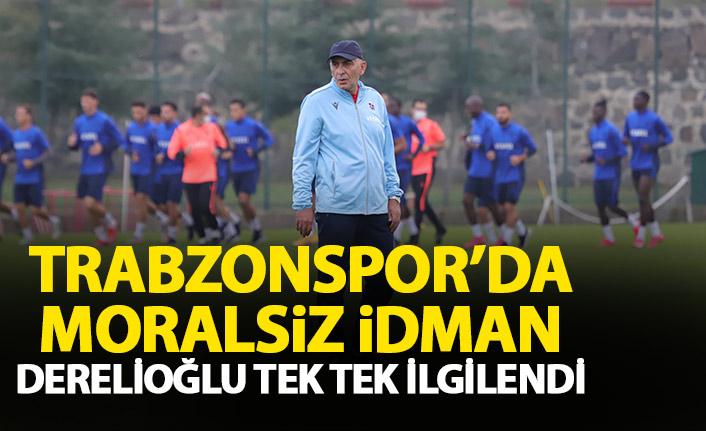 Trabzonspor'da keyifsiz idman