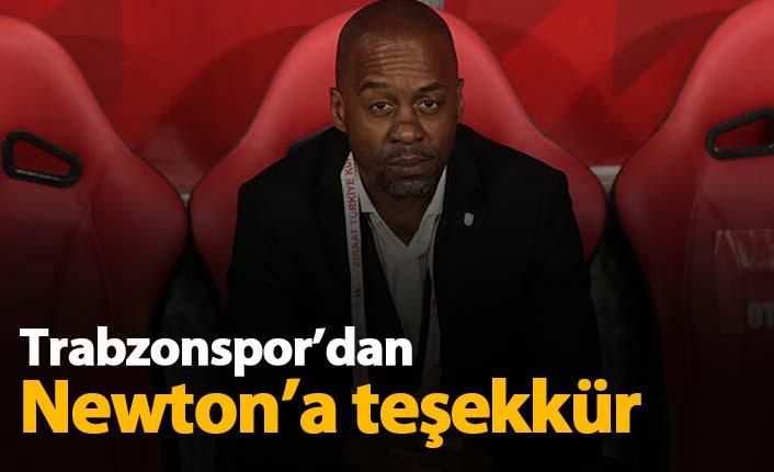 Trabzonspor'dan Newton'a teşekkür