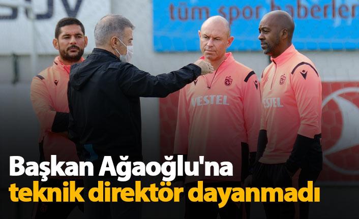 Ahmet Ağaoğlu'na teknik adam dayanmadı