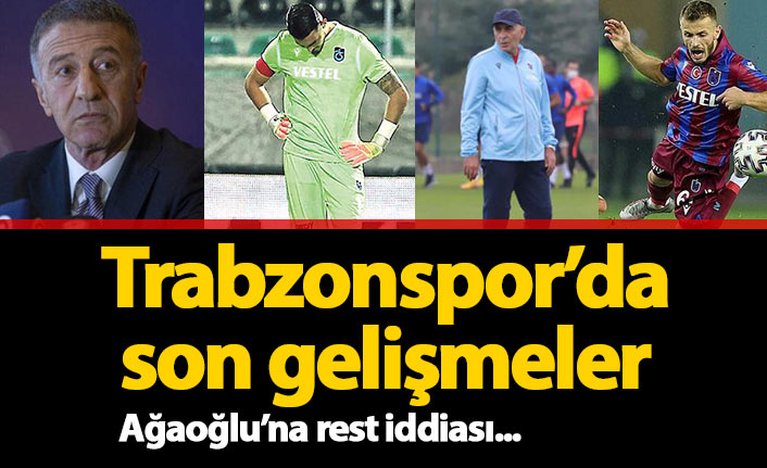 Son dakika Trabzonspor Haberleri 01.11.2020