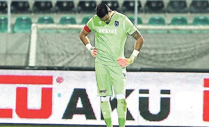 Trabzonspor'da Uğurcan gözyaşlarını tutamadı