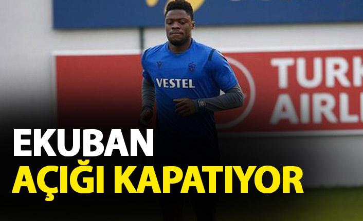 Trabzonspor'da Ekuban'a özel program