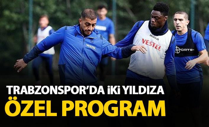 Trabzonspor'da iki futbolcuya özel program