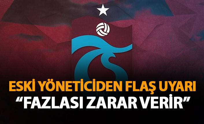 Yusuf Ziya Yılmaz: Gereğinden fazla tartışmalar Trabzonspor'a zarar verir