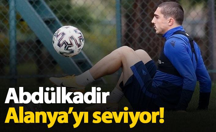 Abdülkadir Ömür Alanyaspor'u seviyor!
