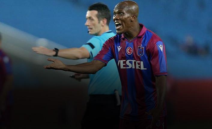 Trabzonspor'da Nwakaeme korkuttu