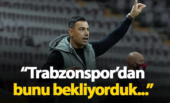 """Çağdaş Atan: """"Trabzonspor'dan bunu bekliyorduk"""""""