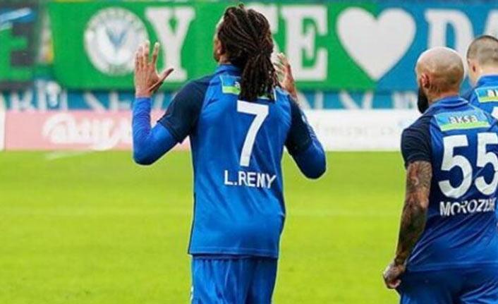 Rizespor'un golcüsü Remy, koronavirüse yakalandı