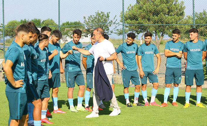 Abdullah Avcı'dan U19'a ziyaret