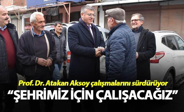 """Atakan Aksoy: """"Şehrimiz için çalışacağız"""""""