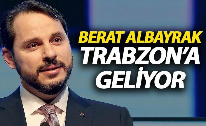 Berat Albayrak Trabzon'a geliyor