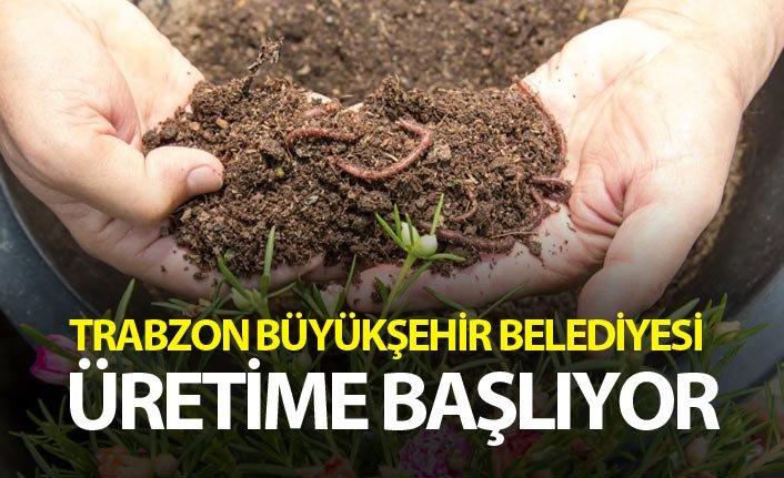 Trabzon Büyükşehir Belediyesi üretime başlıyor