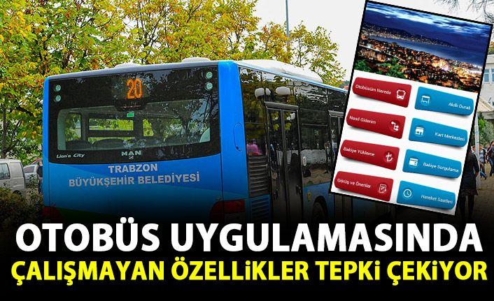 otobüs uygulaması tepki çekiyor!