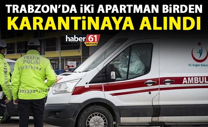 2 διαμερίσματα σε καραντίνα ταυτόχρονα στο Trabzon