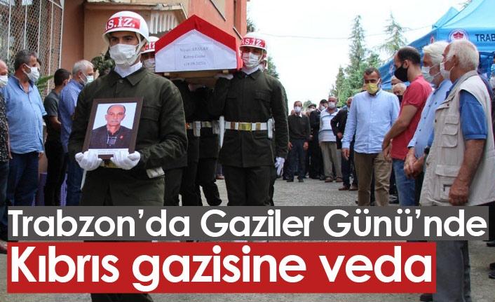 Trabzon'da Gaziler gününde gaziye veda