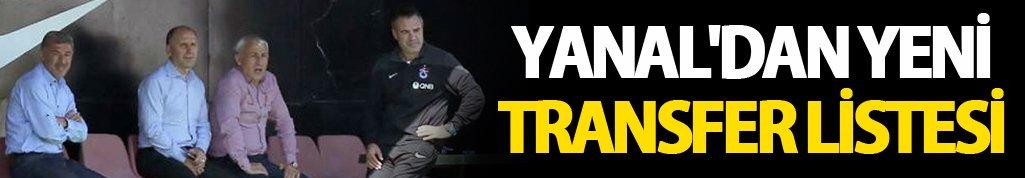 Yanal'dan yeni transfer listesi