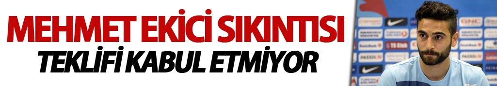 Trabzonspor'da Mehmet sıkıntısı!
