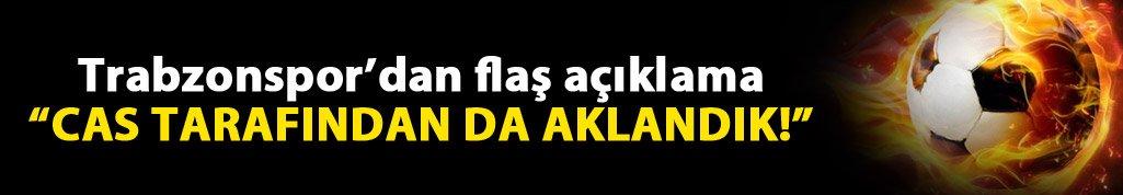 Trabzonspor'dan Flaş açıklama! Cas'tan yazı geldi