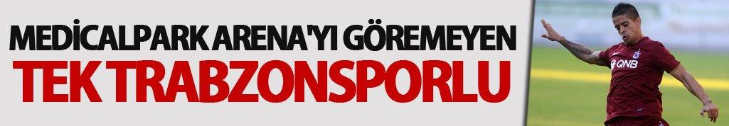 Medicalpark Arena'yı göremeyen tek Trabzonsporlu