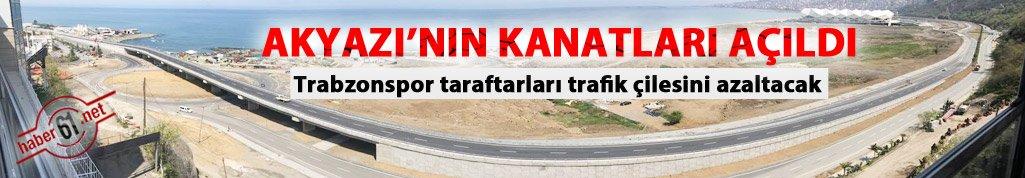 Trabzonspor taraftarları trafik çilesini azaltacak