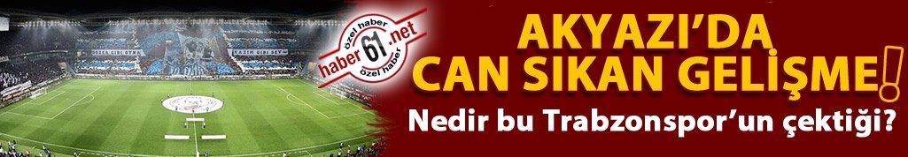 Akyazı Stadı'nda büyük şok!