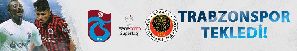 Trabzonspor Tekledi! Trabzonspor Gençlerbirliği maç özeti